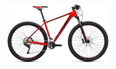 "CUBE LTD RACE 27,5"" RED-BLACK 2017"