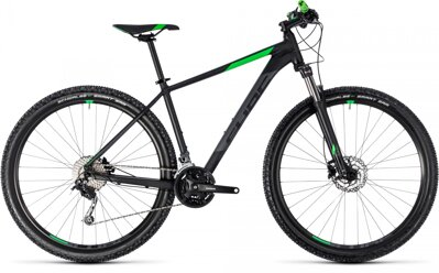 "CUBE AIM SL 27.5"" BLACK GREEN 2018"