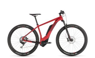 CUBE REACTION HYBRID RACE 500 RED 2019