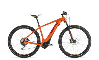 CUBE REACTION HYBRID SL 500 ORANGE GREEN 2019