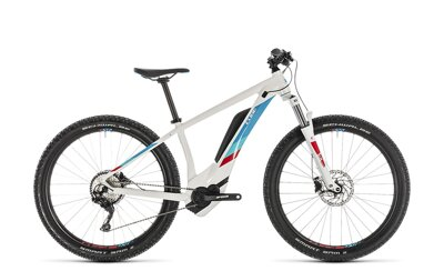 CUBE ACCESS HYBRID PRO  WHITE BLUE 2019