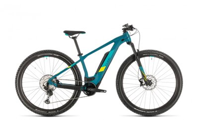 CUBE  ACCESS HYBRID RACE 2020 PINETREE LIME