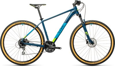 "CUBE AIM RACE BLUEBERRI LIME 27.5""/29"" 2021"
