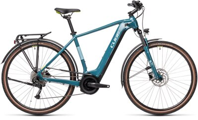 CUBE  TOURING HYBRID ONE BLUE GREEN 500 2021
