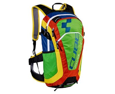 CUBE BACKPACK FREERIDE 20 MULTICOLOR
