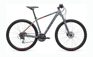"CUBE AIM RACE  29"" GREY-ORANGE  2017"