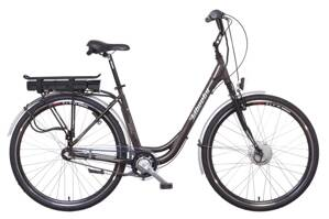 LIBERTY e-STRADA 3spd 36V antracitový