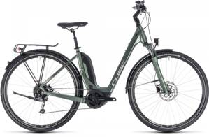 CUBE TOURING HYBRID ONE 500 2018 EASY ENTRY FROSTGREEN