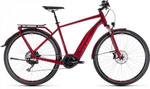 CUBE TOURING HYBRID Exc 500 2018 MEN  DARKRED