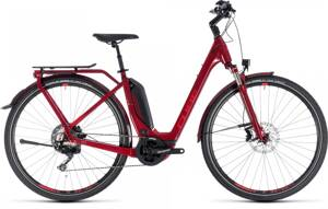 CUBE TOURING HYBRID Exc 500 2018 EASY ENTRY  DARKRED