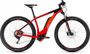 CUBE REACTION HYBRID Race 500 2018 RED BLACK