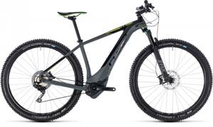CUBE REACTION HYBRID SLT 500 2018 GREY GREEN