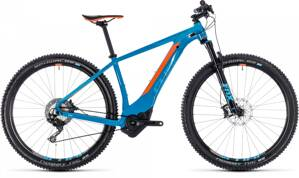 CUBE REACTION HYBRID SLT 500 2018 BLUE ORANGE