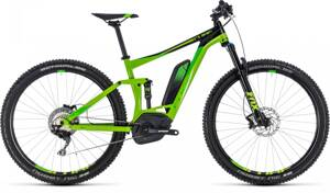 CUBE STEREO HYBRID 120 Exc 500  2018 GREEN