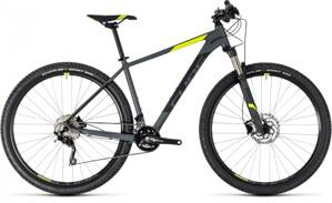 "CUBE ATTENTION SL 27,5"" GREY YELLOW 2018"