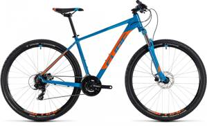 "CUBE AIM PRO 27.5"" BLUE ORANGE 2018"
