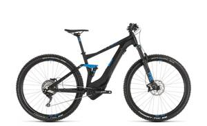 CUBE STEREO HYBRID 120 RACE  500 BLACK BLUE 2019