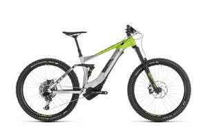 "CUBE STEREO HYBRID 160 RACE 500 27.5"" GREY GREEN 2019"