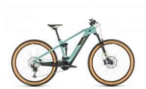 CUBE  STEREO HYBRID 120 RACE 500 29 FROZENGREEN 2020