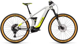 CUBE  STEREO HYBRID 140 HPC RACE 625 GREY YELLOW 2021