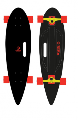 TEMPISH BUFFY 36'' PINTAIL BLACK