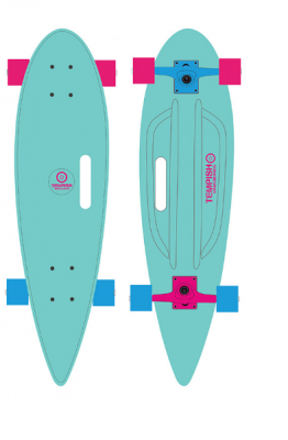 TEMPISH BUFFY 36'' PINTAIL BLUE